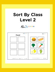 Sort By Class Program Level 2:  Visual Aid:  Pages 11