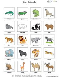 PECS - Zoo Animals