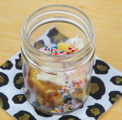 Birthday Pound Cake in a Jar Recipe And Comprehension Sheets: Pages 17