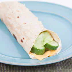 Cucumber Lettuce Cheese Wrap Recipe And Comprehension Sheets: Pages 21