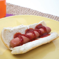 Hotdog with Ketchup Toaster Oven Visual Recipe & Comprehension Sheets: 21 Pages