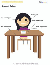 How to Sit at Your Desk for Girls