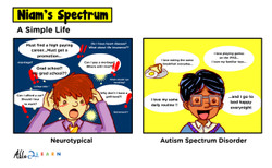 A Simple Life - Comic: Niam Jain Autism Artist