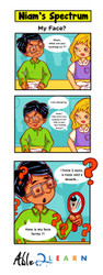 What's Wrong With My Face - Comic:  Niam Jain Autism Artist