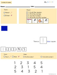 Learn Counting Numbers 1-10 With Visual Discrimination- Pages  10