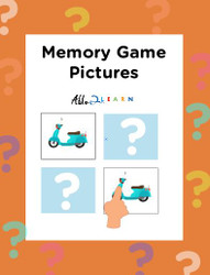 Memory  Game: Learn Nouns: Speech Development:  12 Pages