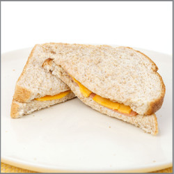Lunch Meat & Cheese Sandwich Visual Recipe And Comprehension Sheets: Pages 18