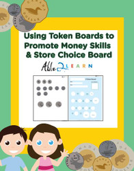 Canadian Money Token Boards: Learn Money & Receive Rewards 42 Pages