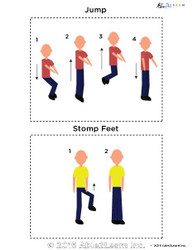 Learn Simple Gross Motor Tasks  Flashcards: Pages 6
