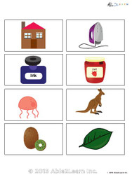 Learning Common Nouns  Flashcards: 25 Flashcards: Pages 4
