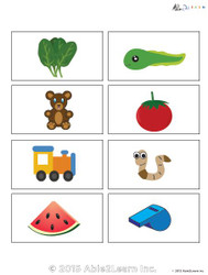 Learning Common Nouns  Flashcards: 50 Flashcards: Pages 7