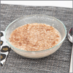 Maple Syrup Cinnamon Oatmeal Visual Recipe- Stove Top : Comprehension Sheets: 19 Pages