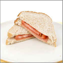 Lunch Meat & Tomato Sandwich Visual Recipe And Comprehension Sheets: Pages 18