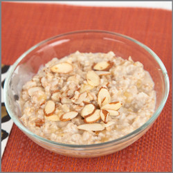 Oatmeal and Almonds- Microwave with Milk Visual Recipe : Comprehension Sheets: 20 Pages