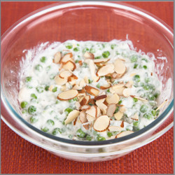 Pea Salad With Almonds Visual Recipe And Comprehension Sheets: Pages 20