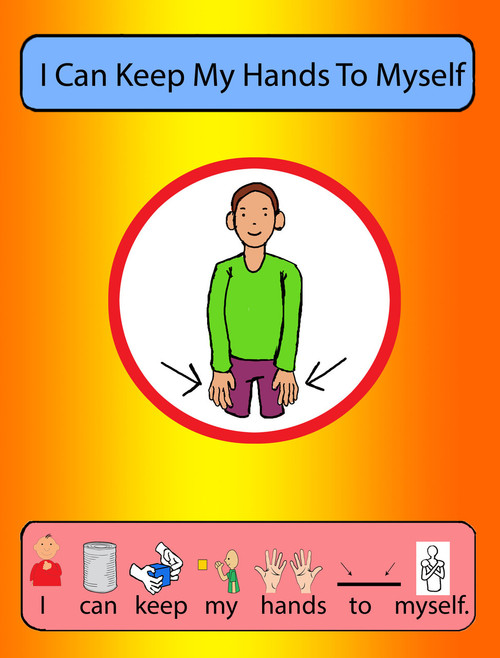Free Social Story Keep Your Hands To Yourself, Free Autism Resources, Free Aba Resources, Free Teaching Materials, bedtime routine