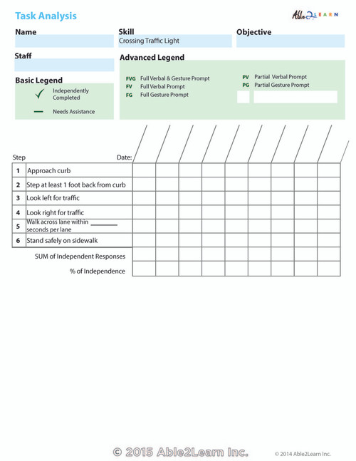 Data Sheet: Crossing Traffic Light: 1 Page
