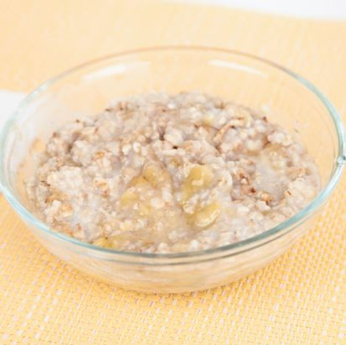 Banana Oatmeal with Milk Stove Top  And Comprehension Sheets: Pages 22-( Lv 1)