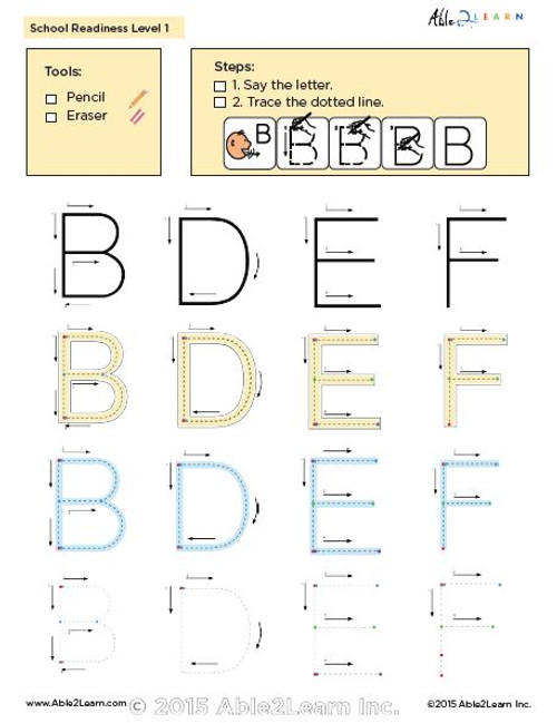 Printing Book - Learning Letters