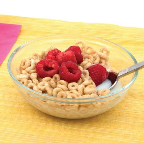 Cereal with Raspberries Visual Recipe & Comprehension Sheets: 18 Pages