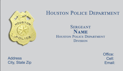 Houston police department business cards hpd business card 2 colourmoves