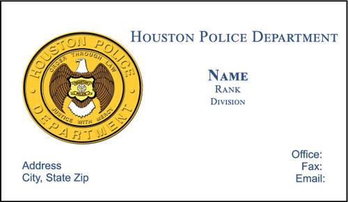 HPD Business Card #3