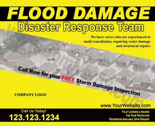 Flood Damage 02 EDDM Postcard