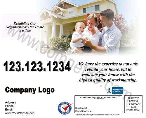 Remodeling & Restoration EDDM Postcard 06