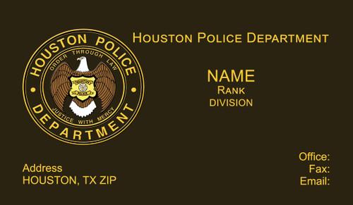 HPD Business Card #14