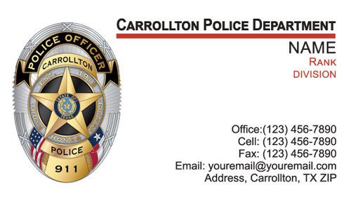 CAPD Business Card #1