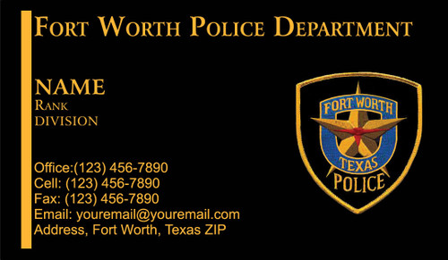 FWPD Business Card #2
