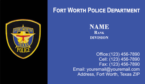 FWPD Business Card #4
