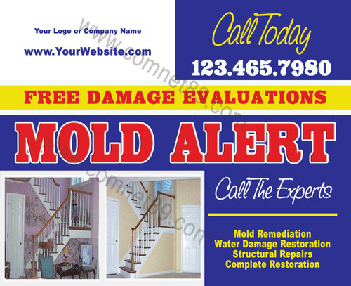 Mold Remediation EDDM Postcard 03