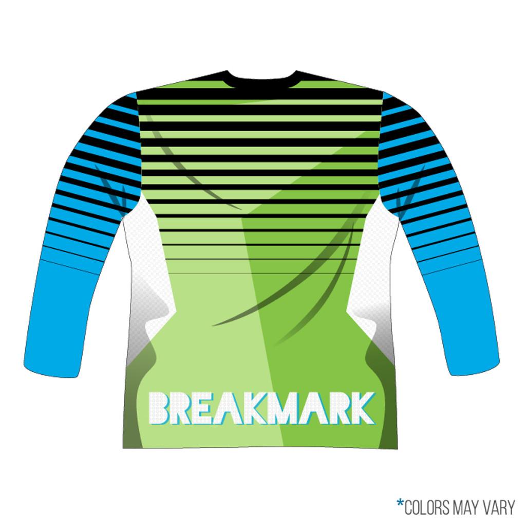 Breakmark Full Sub Long Sleeve Full Zip Back with Optional Pockets