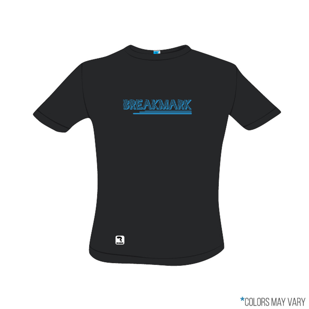 Breakmark Screen Print Short Sleeve Front Dark
