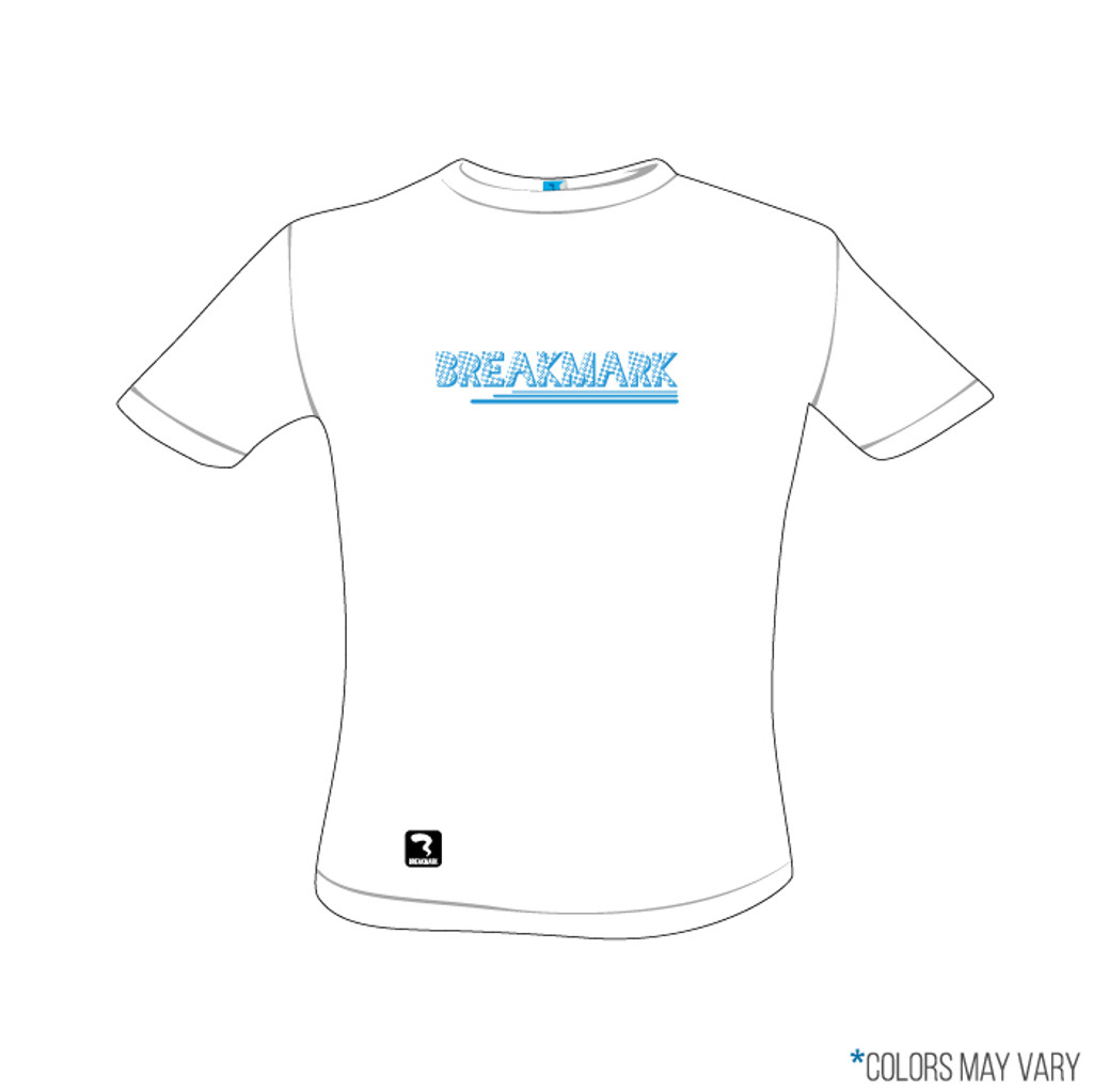 Breakmark Screen Print Short Sleeve Front Light