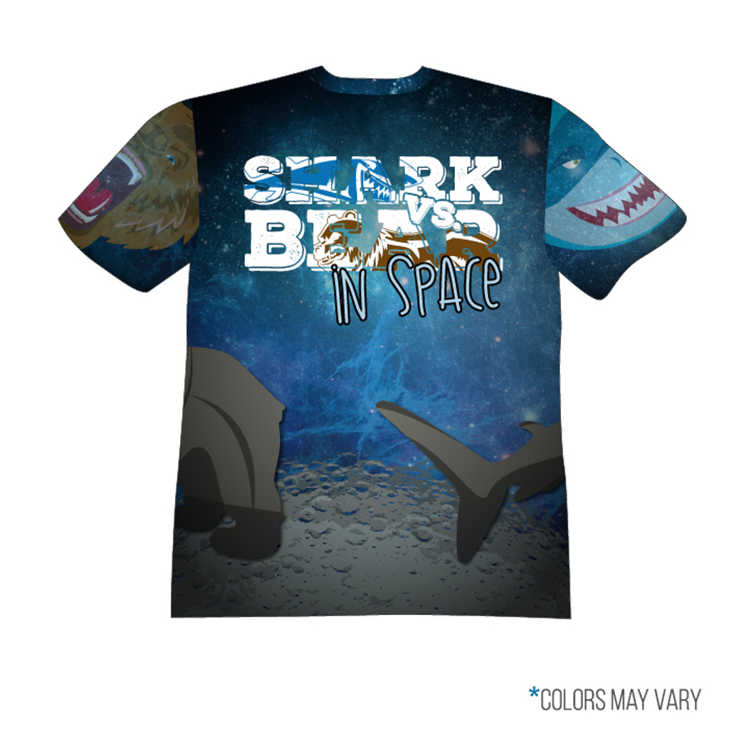 Shark Vs Bear Space Back