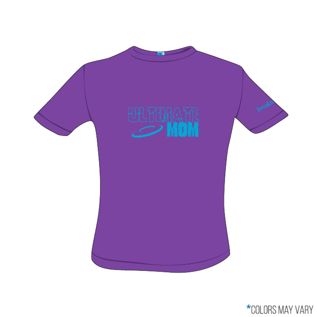 Ultimate Mom Purple Screen Print Short Sleeve