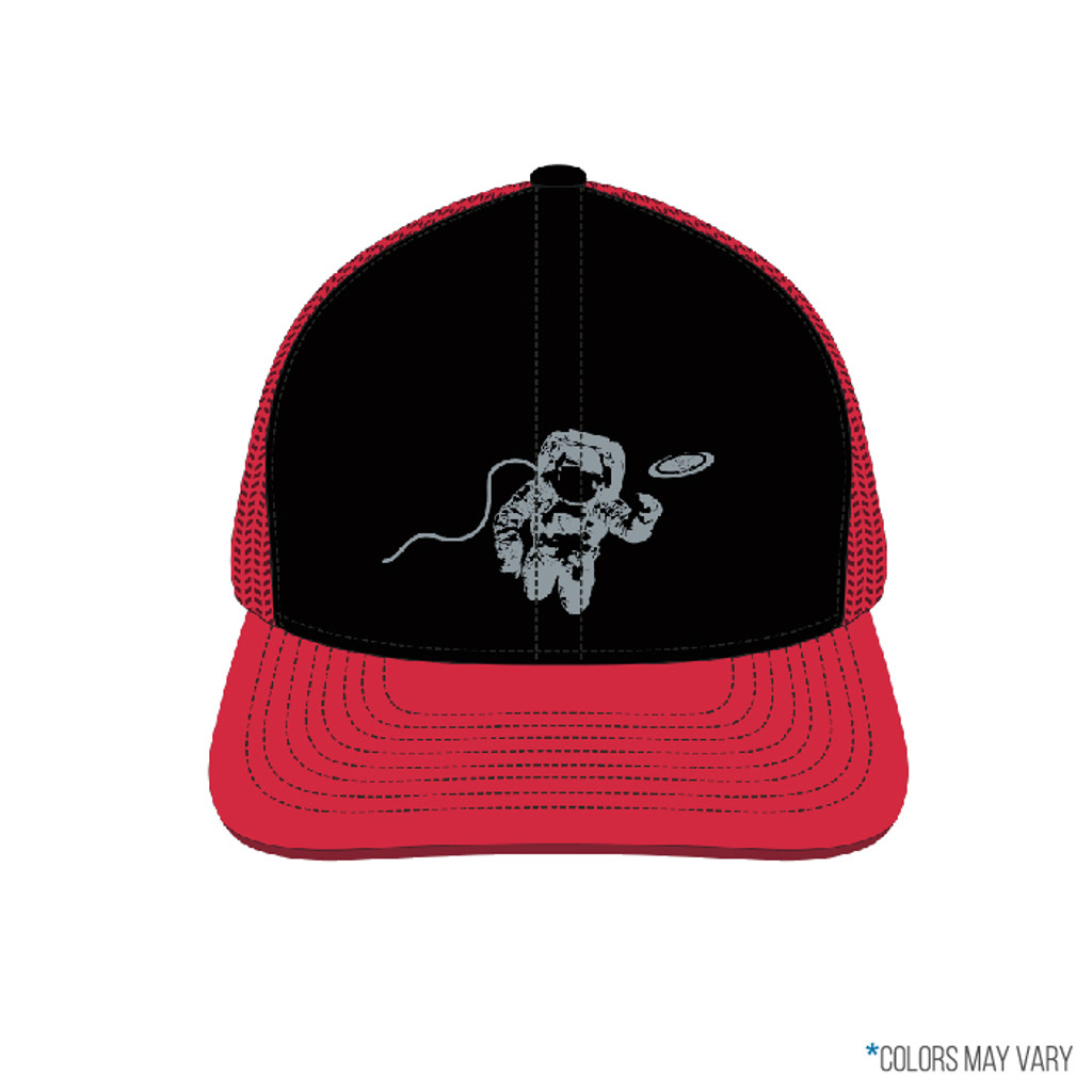 Black/Red Astro Trucker