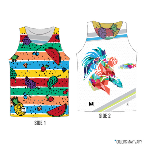 Fruit/Panther Reversible Front