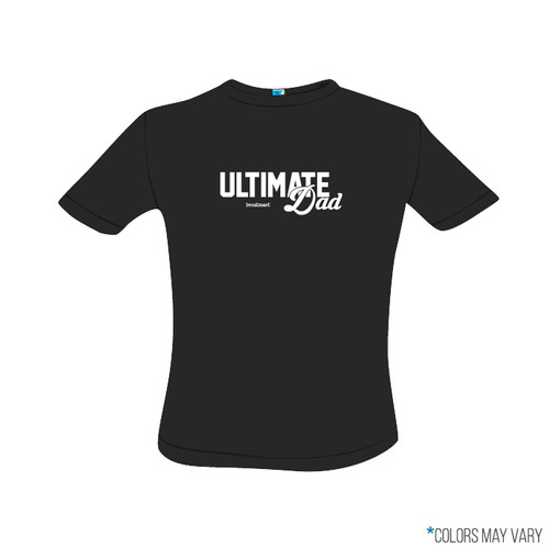 Ultimate Dad Black Screen Print Short Sleeve