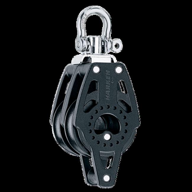 Harken 40mm Carbo Double Swivel Block w/Becket