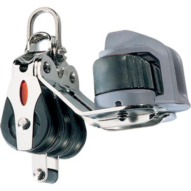 Ronstan Series 20 BB Block, Triple Cleat Becket