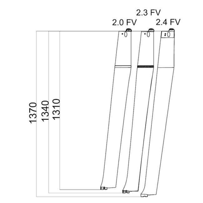 Mach2.4 Front Vertical Foil