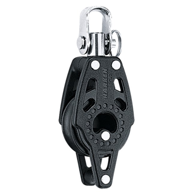 Harken 29mm Single Swivel Carbo Block w/Becket