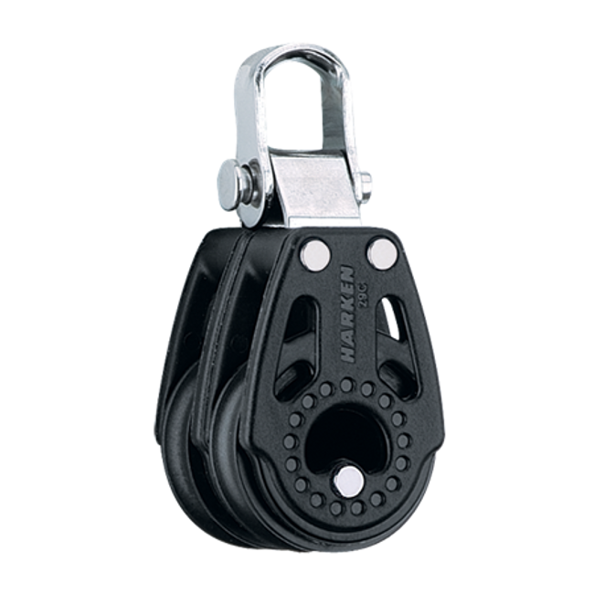 Harken 29mm Carbo Double Fixed Block