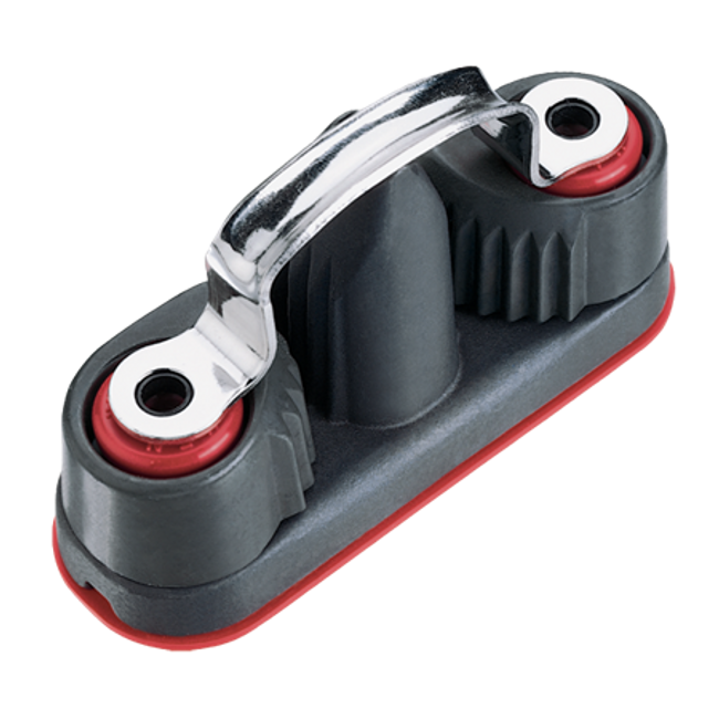 Harken Aluminum Double Wide Cam Cleat