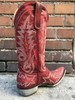 Old Gringo Woman's Red Nevada Boot