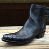 Mens Black Wingtip Zorro
