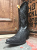 real all python cowboy boots